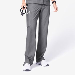 FIGS Kade Petite XS Scrub Pants Gray Graphite NWT